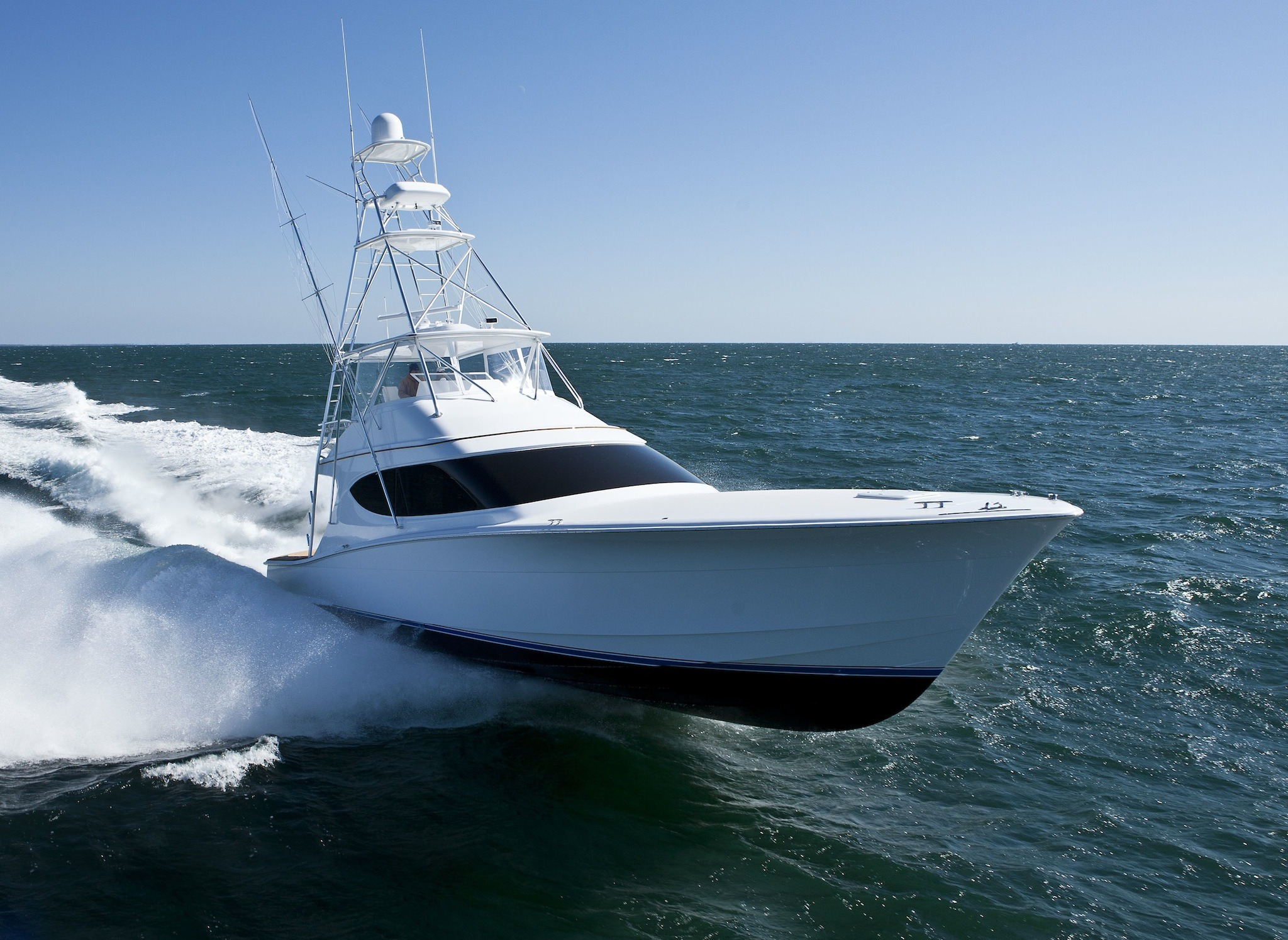 Hatteras 54 gt evermarine yachts panama for Sport fishing boats